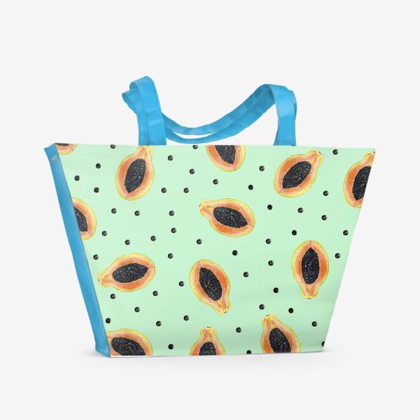 Пляжная сумка «Папайя»