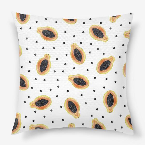 Подушка «Папайя»
