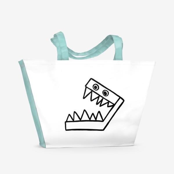 Пляжная сумка «8»