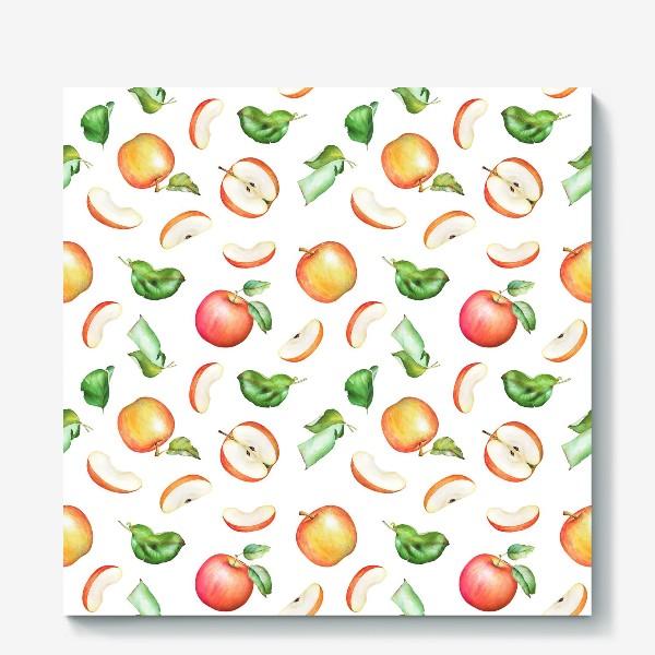 Холст «Садовые яблоки»