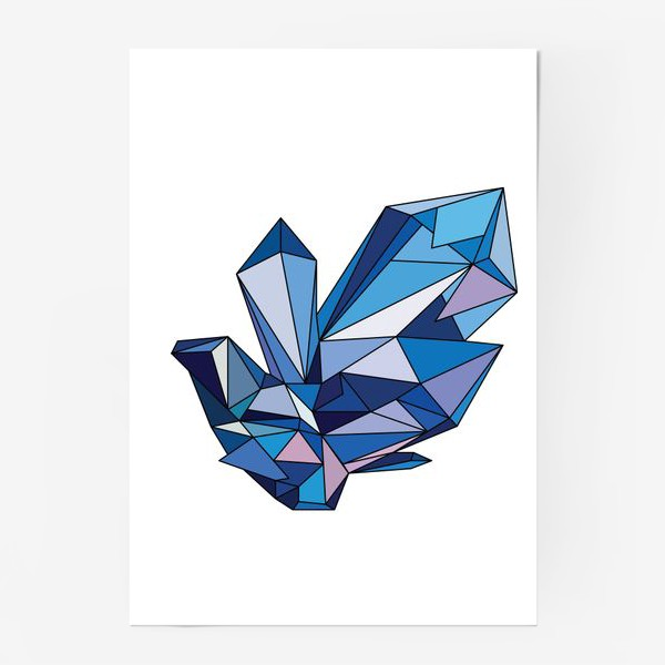 Постер «кристалл»