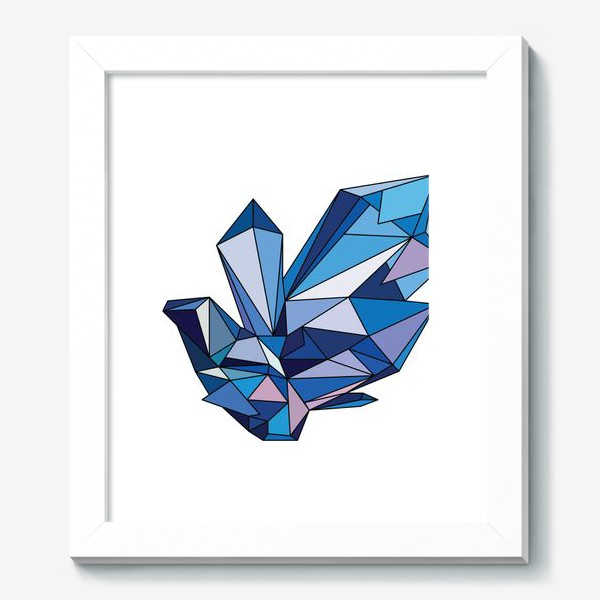 Картина «кристалл»
