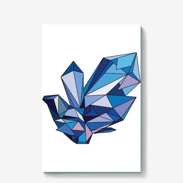 Холст «кристалл»
