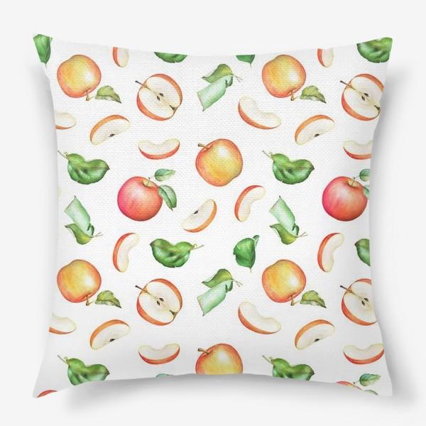 Подушка «Садовые яблоки»