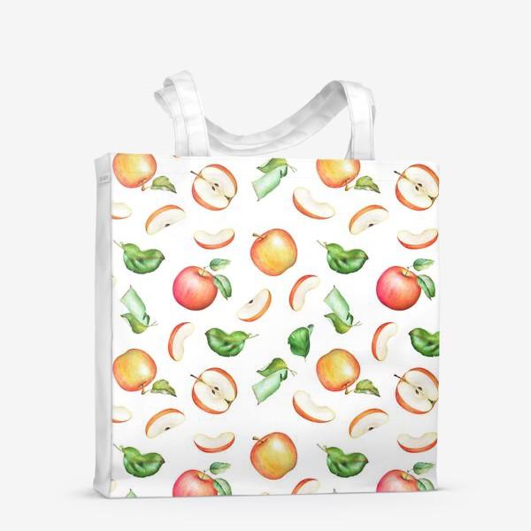 Сумка-шоппер «Садовые яблоки»
