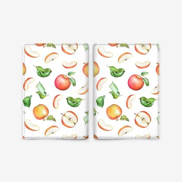 Обложка для паспорта «Садовые яблоки»