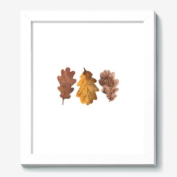 Картина «Дубовые листочки»