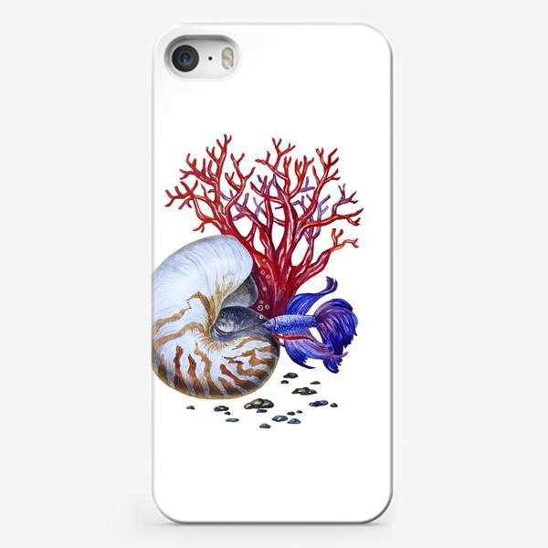 Чехол iPhone «Водный мир »