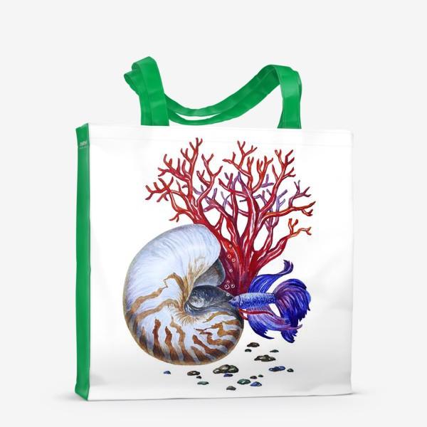 Сумка-шоппер «Водный мир »