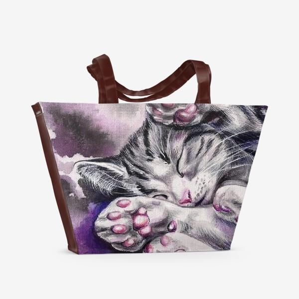 Пляжная сумка «Котенок »
