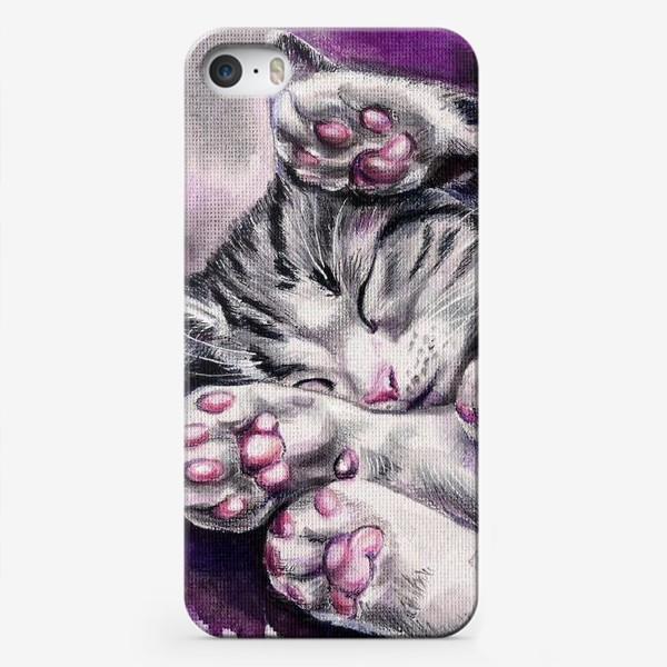 Чехол iPhone «Котенок »