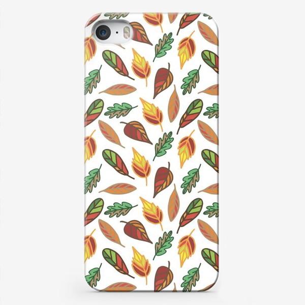 Чехол iPhone «Осень. Листья»