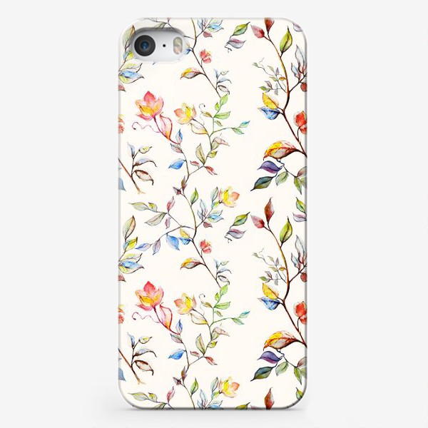 Чехол iPhone «цветочный принт»