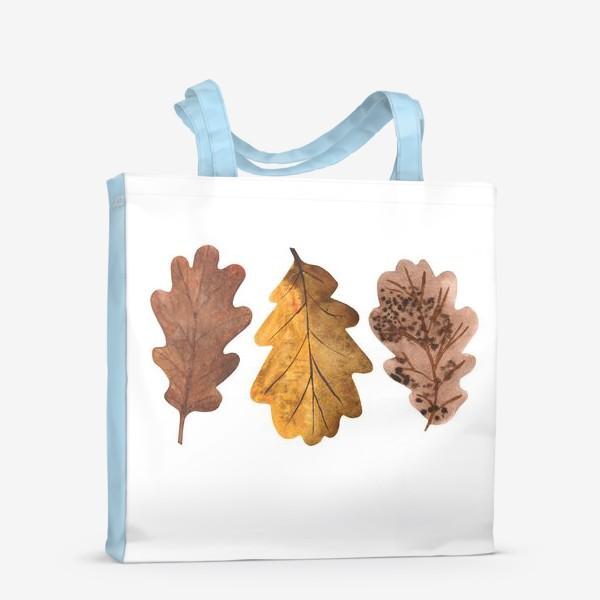 Сумка-шоппер «Дубовые листочки»