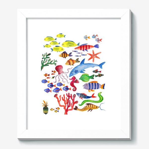 Картина «Рыбы. Подводный мир»