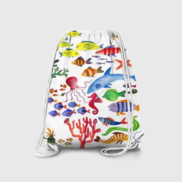 Рюкзак «Рыбы. Подводный мир»