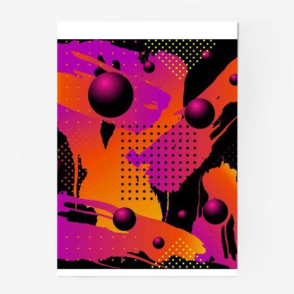 Постер «Абстрактный фон»
