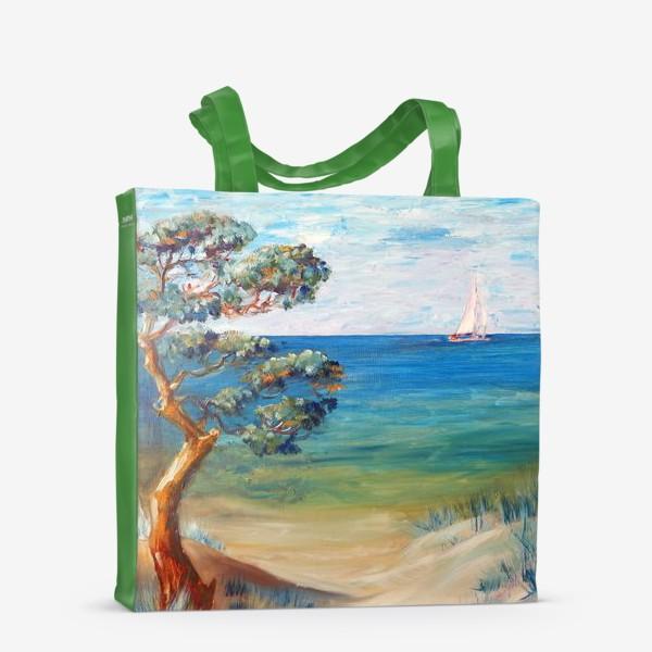 Сумка-шоппер «Дюны и море»