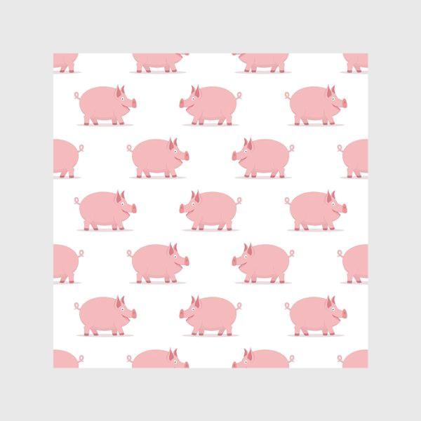 Скатерть «Паттерн со свинками»