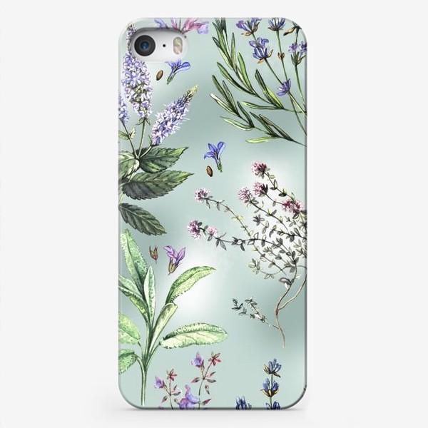 Чехол iPhone «Душистые летние травы»