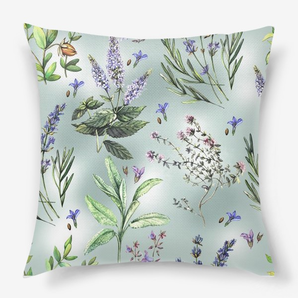 Подушка «Душистые летние травы»