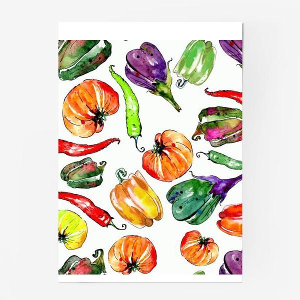 Постер «Овощи урожай»