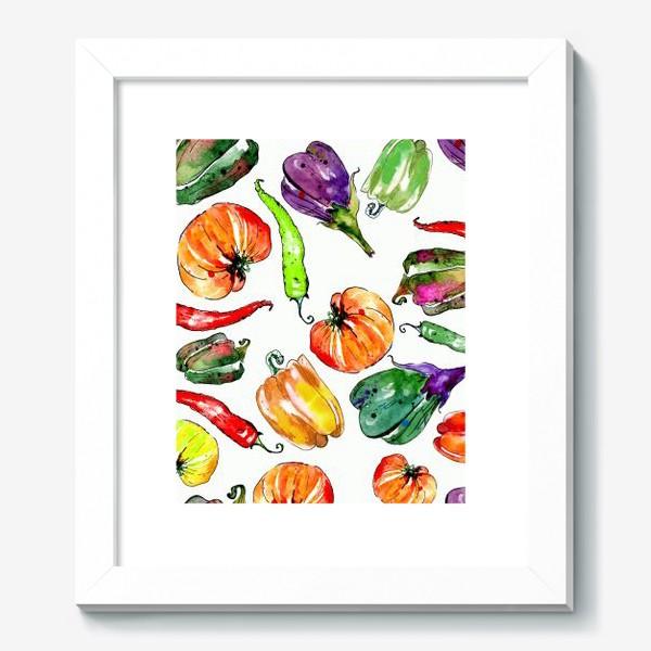 Картина «Овощи урожай»
