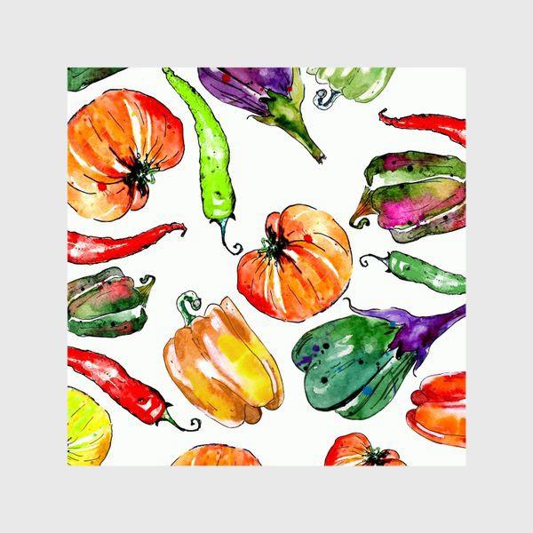 Шторы «Овощи урожай»