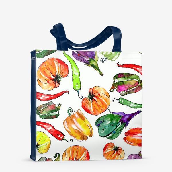 Сумка-шоппер «Овощи урожай»