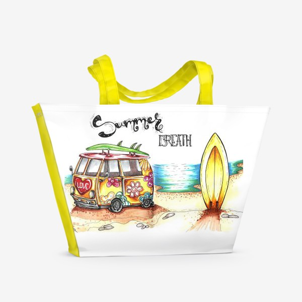 Пляжная сумка «Summer Breath»