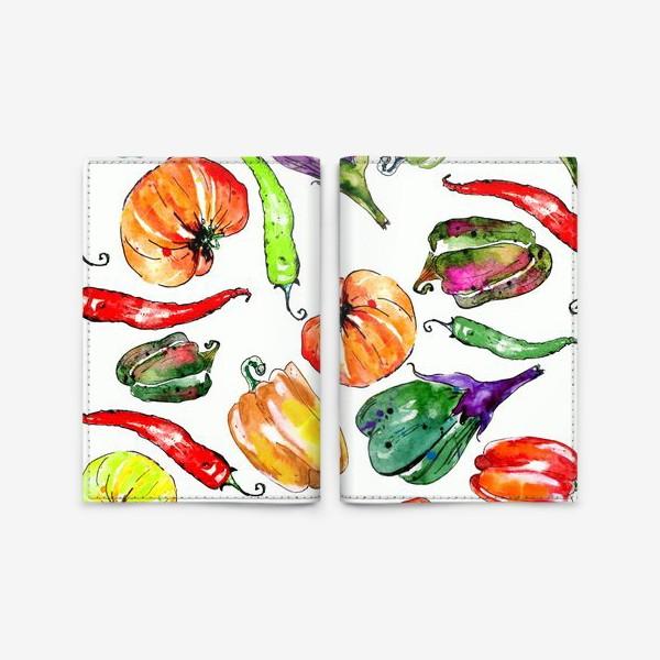 Обложка для паспорта «Овощи урожай»
