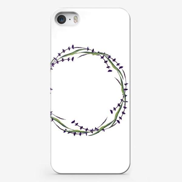 Чехол iPhone «венок из трав»