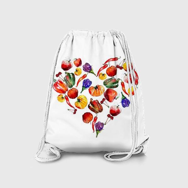 Рюкзак «овощное сердце»