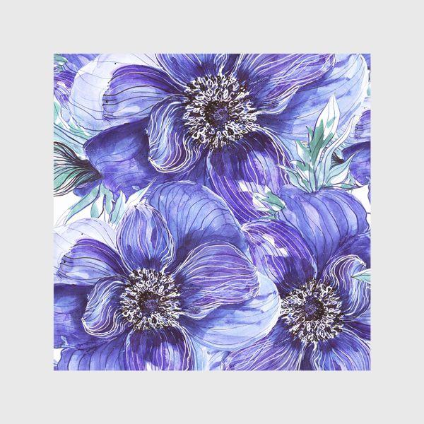 Скатерть «Анемоны синие»