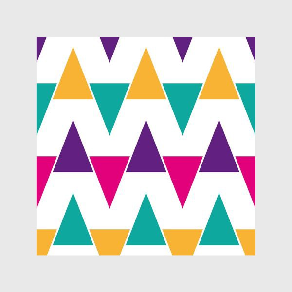 Шторы «Яркий абстрактный узор»