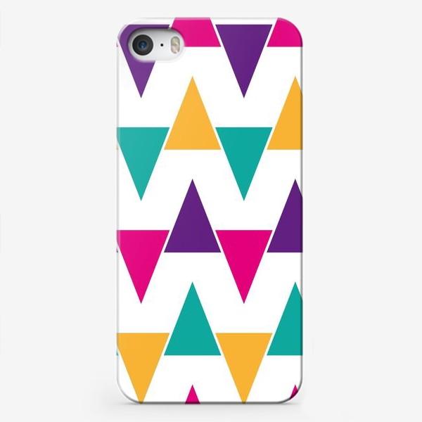 Чехол iPhone «Яркий абстрактный узор»