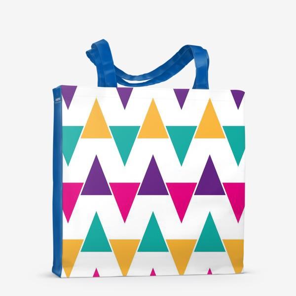 Сумка-шоппер «Яркий абстрактный узор»