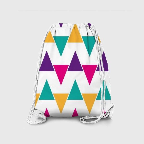 Рюкзак «Яркий абстрактный узор»