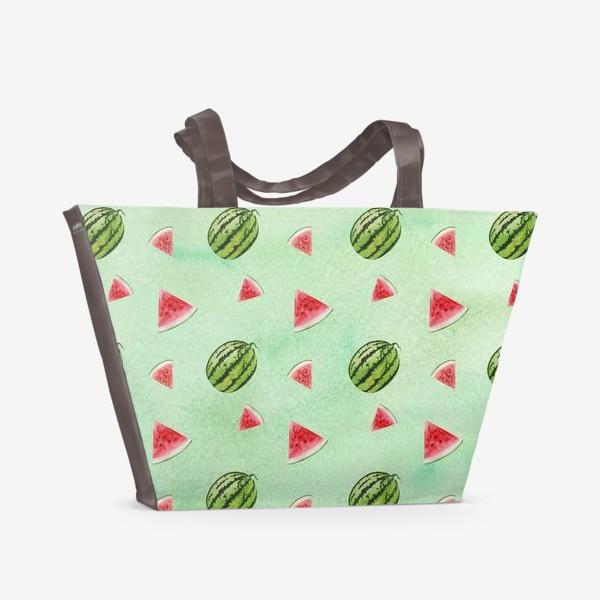 Пляжная сумка «Арбуз»