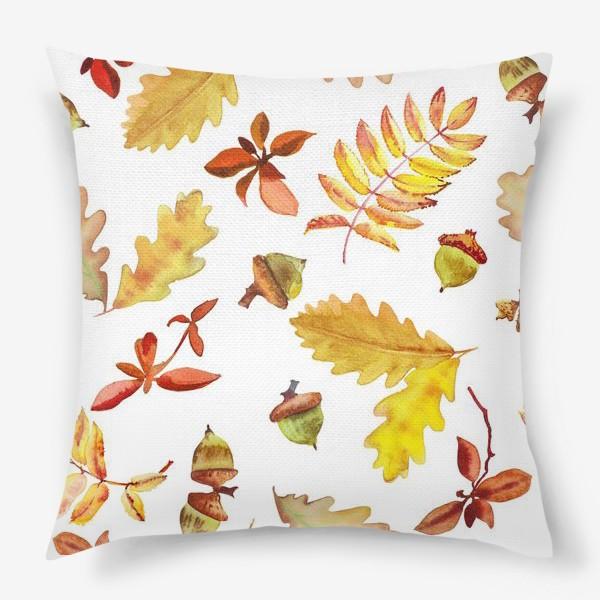 Подушка «Осеняя листва »