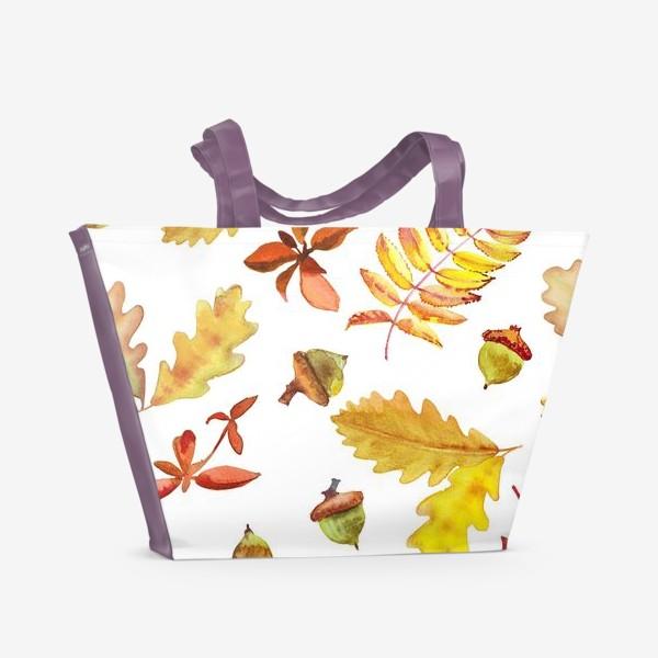 Пляжная сумка «Осеняя листва »