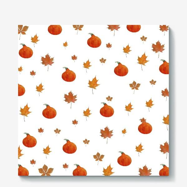 Холст «Осенний паттерн»
