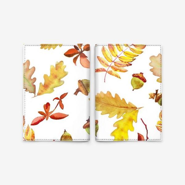 Обложка для паспорта «Осеняя листва »