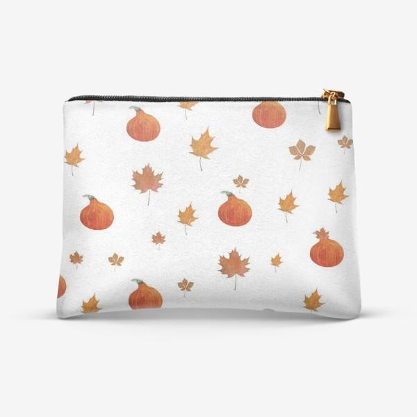 Косметичка «Осенний паттерн»