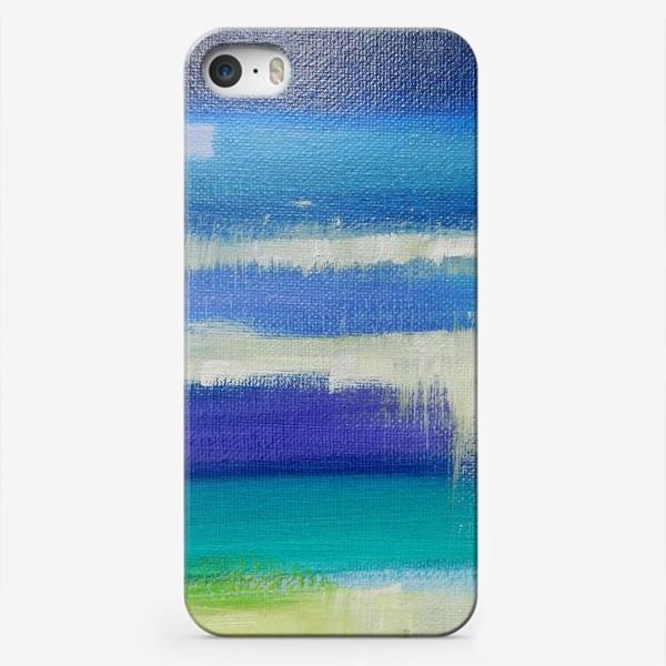 Чехол iPhone «waterlines»