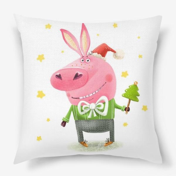 Подушка «Новогодний поросёнок»