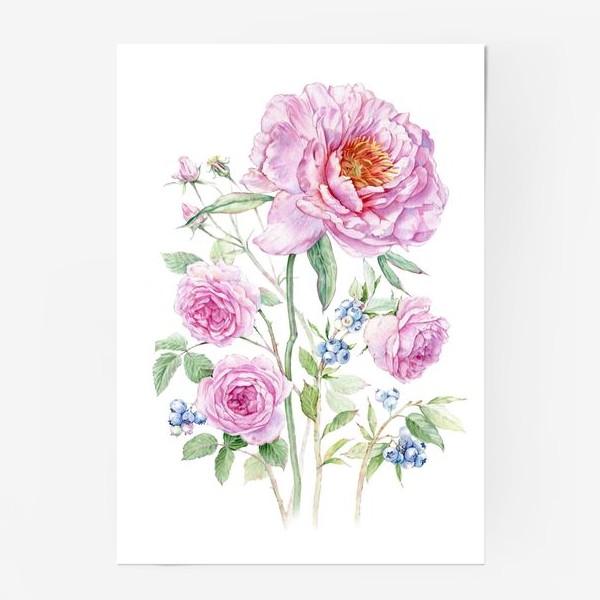 Постер «Флористика»