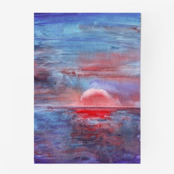 Постер «закат на море 3»