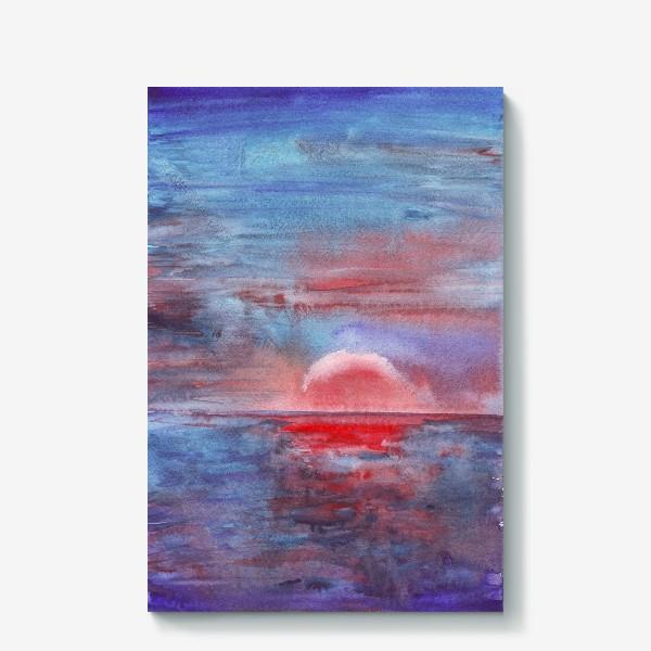 Холст «закат на море 3»