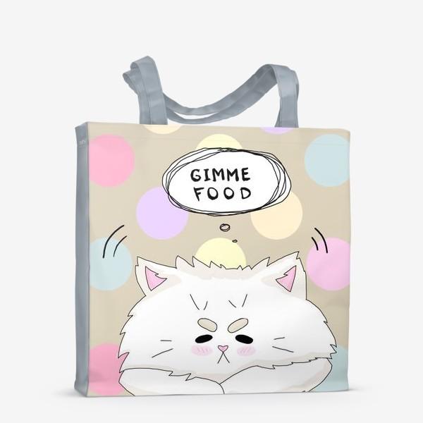 Сумка-шоппер «Покорми котика»